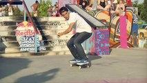 Skateboarding contest in Spain - Red Bull Skate Arcade 2014.