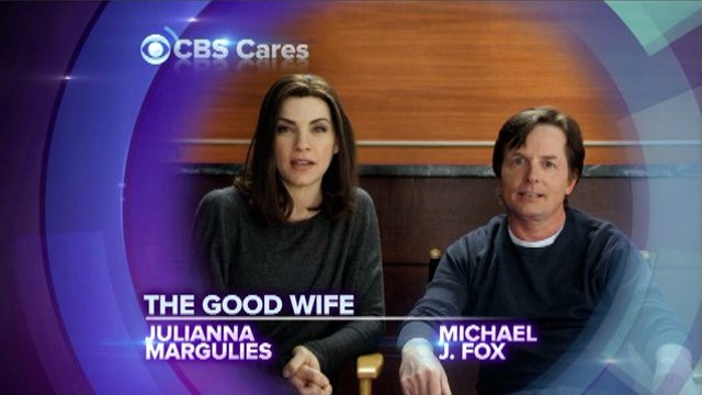 CBS Cares - Michael J Fox and Julianna Margulies on Parkinson's Disease