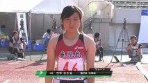 2011国体陸上 少年女子A100m決勝