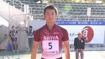 2011国体陸上 少年男子A100m決勝