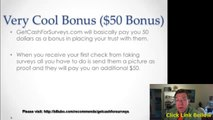 Get Cash For Surveys Review - Make Money Filling Surveys