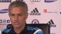 Jose Mourinho Discusses Petr Cech & Thibaut Courtois' Rivalry
