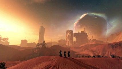 Mars trailer de Destiny