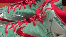Cheap Lebron James Shoes Free Shipping,LeBron 11 Christmas vs LeBron 11 King's Pride