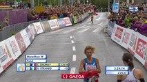 Athlétisme: revivez la victoire de Christelle Daunay sur le marathon des championnats d'Europe