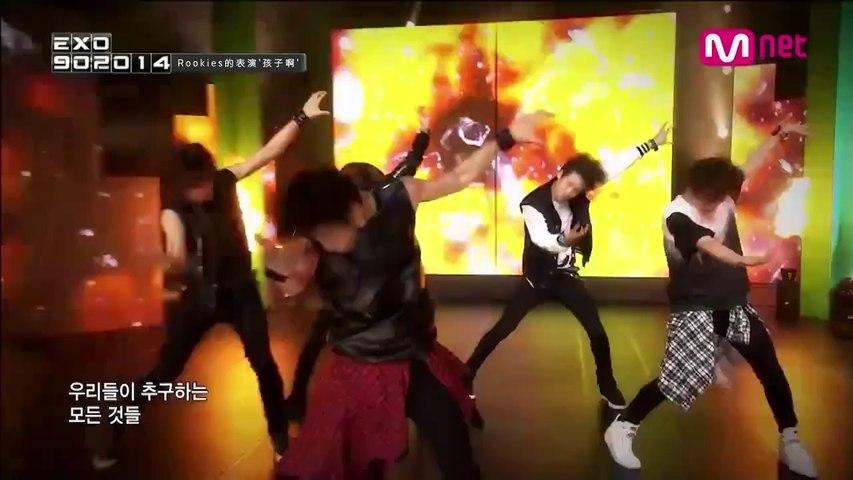 【繁中字】Mnet [EXO 902014] Ep.01 K-POP 차세대 주자 '루키즈'의 스페셜 무대, H.O.T. - 아이야!.mp4