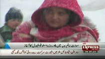 snow festival in malam jabba swat valley Pakistan sherin zada express news swat
