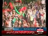 Sheikh Rasheed Ahmed Speech in PTI Azadi March Islamabad - 16th August 2014