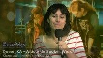 SoloVox poésie musique slam - 53 - Queen KA - Hommage poétique à Sylvia Plath (1932-1963)