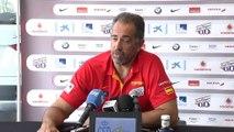 """Mundobasket 2014 - Juan Antonio Orenga: """"Tenemos que seguir nuestra preparación"""""""
