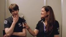 SK Fredy répond aux questions de Millenium lors de la Gamescom 2014