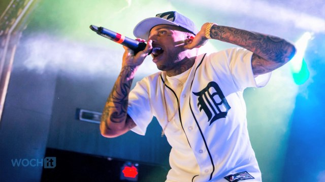 Rapper Kid Ink Arrested In Vegas ... Disturbing The Peace ... Huh?