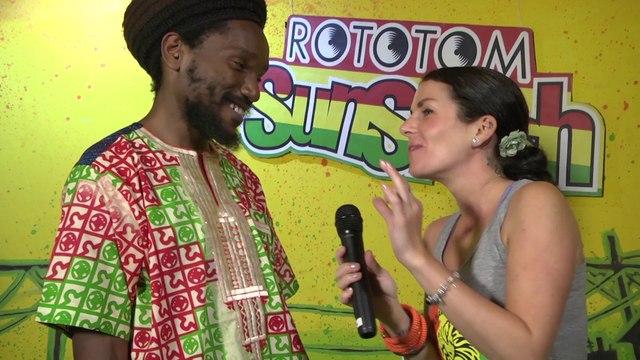 KABAKA PYRAMID interview @ Rototom Sunsplash 2014