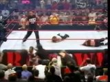 WWF RAW 8/21/2000 Lita vs Stephanie Mcmahon (The Rock referee)