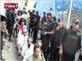 تعرض المعتقلين أثناء فض اعتصام رابعة للتعذي