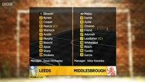 Leeds United 1 v 0 Middlesbrough Highlights #FLS #LUFC
