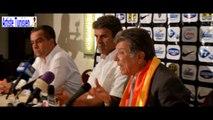 Sport Express : Point de presse pour la présentation de Khaled Ben Yahia à l'hôtel du PARC