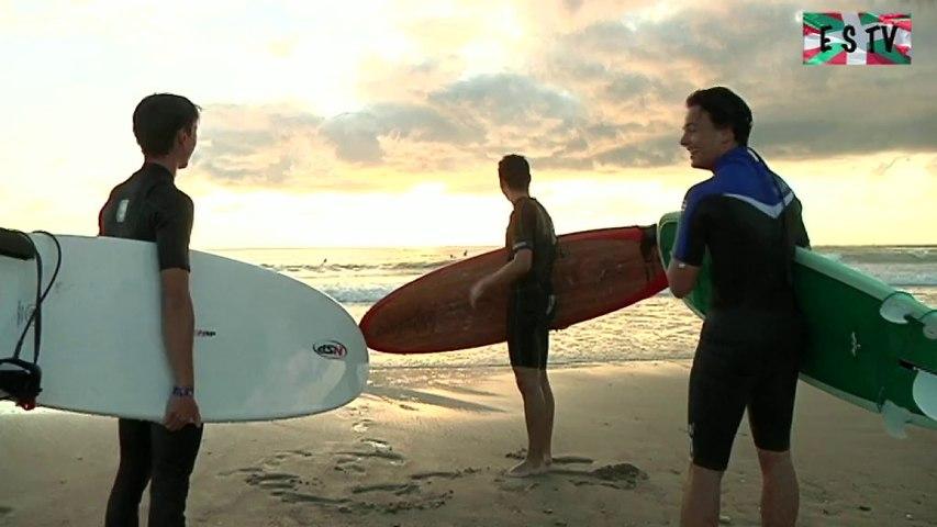 Montalivet: Surf dominical en soirée - Euskadi Surf TV