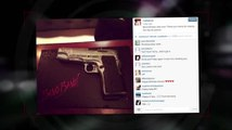 Rumer Willis Posts a Gun Themed Birthday Cake