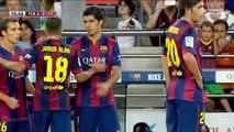 Barcelona Vs Club Leon 6-0 All Goals And Highlights - Trofeo Joan Gamper ( Suarez Debut ) 2014 HD_(360p)