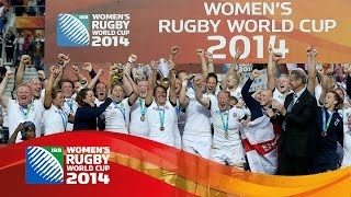 [HIGHLIGHTS] England v Canada 21-9 in Women's Rugby World Cup 2014 final