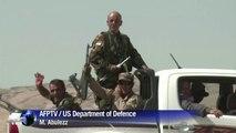 US airstrikes support Kurdish fighters retaking Mosul dam
