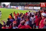 Galatasaray maçındaki tatsız olay anında tribünlerde neler yaşandı?