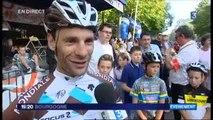 Jean-Christophe Péraud invité du 19/20 de France 3 Bourgogne après sa deuxième place sur le Tour