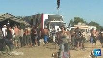 """8000 """"teufeurs"""" pour une Rave-Party illégale à Moussoulens. Un des participants toujours entre la vie et la mort."""