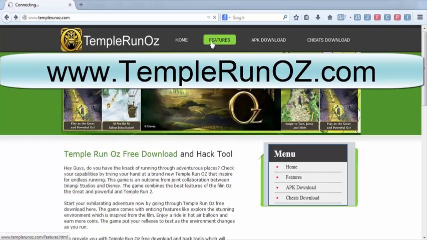Temple Run Oz Cheats Android For Gameplay
