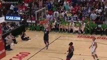 Derrick Rose Misses Dunk vs Brazil