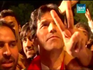 Lookalike Of Imran Khan In Azadi March