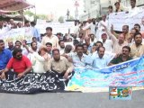 Protest Of Para Medical Staff In Karachi Press Club...
