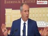 Muharrem İnce: CHP Grup Başkanvekilliği Görevimden İstifa Ettim