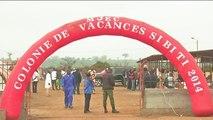Congo, Les jeunes en camps de formation à Sibiti