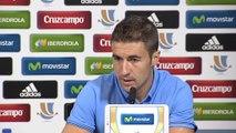 """Supercopa de España - Gabi: """"Nuestra estilo de fútbol no va a cambiar"""""""