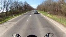 Budapest (M6) - Martonvásár (7-es út   road 7)    Suzuki GSX 650F