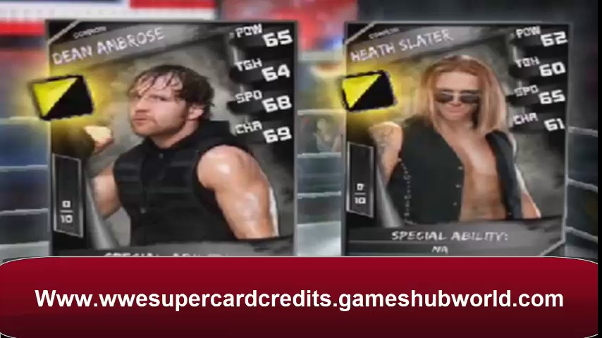 Get Free WWE SuperCard Credits cheat téléchargement