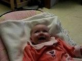 Julia et ses premiers éclat de rire
