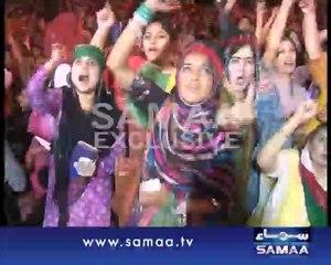 Dancing Beauties In Azadi March