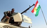 Peshmerga fighters retaking regions in nortern Iraq