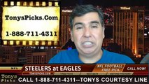 Philadelphia Eagles vs. Pittsburgh Steelers Pick Prediction NFL Preseason Pro Football Odds Preview 8-21-2014