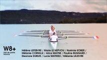 Présentation de l'équipe de France d'aviron 2014: W8+