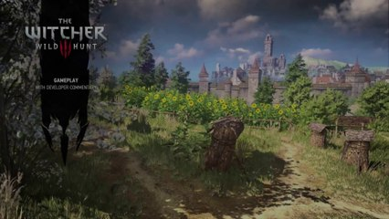35 min gameplay demo de The Witcher 3 : Wild Hunt