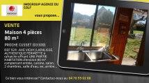 A vendre - maison - PROCHE CUSSET (03300) - 4 pièces - 80m²