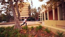 Tempest Freerunning - Training at UCLA 10-16-2010 (Freerunning and Parkour)