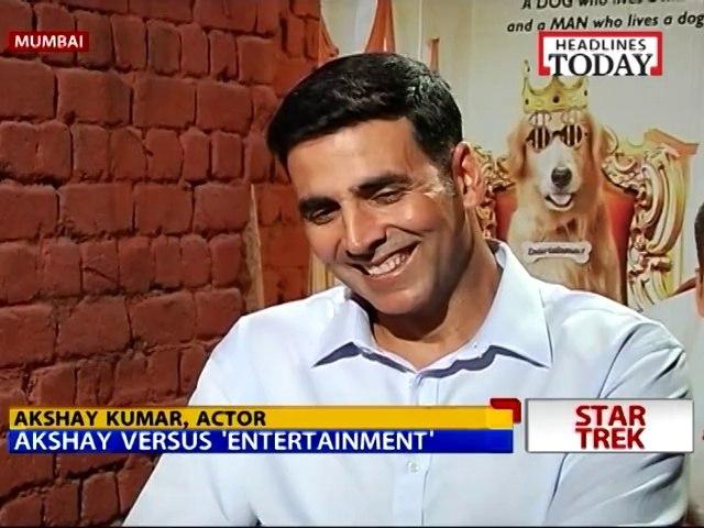 Akshay versus 'Entertainment'
