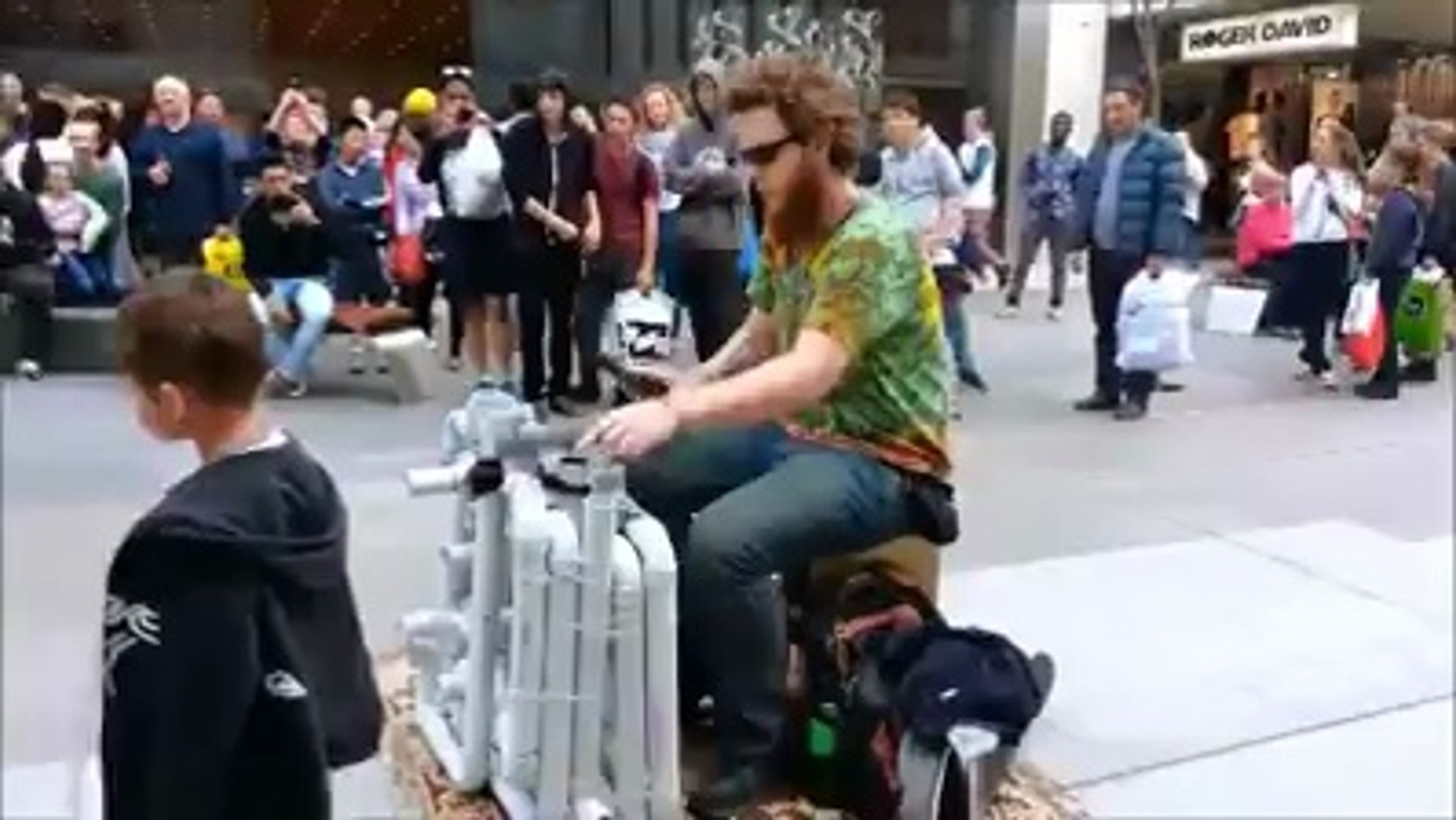Street Musician - Just Pipes and Flip Flops | Viral Video