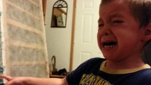 Little Kid Is Adorably Ambivalent When Dad Steals His Nose