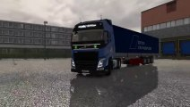 Euro Truck Sim Mod New Volvo FH Gameplay